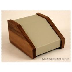 Hammond 1456PH1WHCWW contenitore grigio/fiancate legno, incl. 10°
