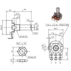 BI Technologies P160KNP-0EC15B100
