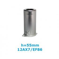 Schermo in alluminio h: 55mm