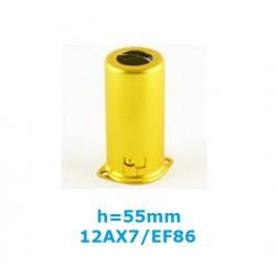 Schermo GIALLO in alluminio h: 55mm