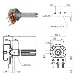 ECC 16mm 250KA
