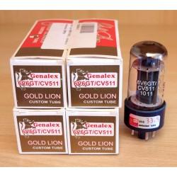 Gold Lion Russia 6V6GT/CV511