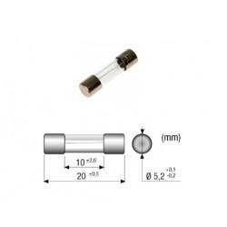 Fusibile 1,25A SEMI RITARDATO, 5x20mm