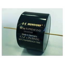 Mundorf MCAP Supreme EVO Silver Gold 0.001uF