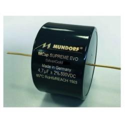 Mundorf MCAP Supreme EVO Silver Gold 0.47uF