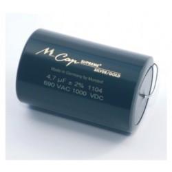Mundorf MCAP SUPREME Silver/Gold 0.47uF 1000V