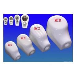 MCV cappuccio ceramico anodico
